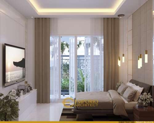 Desain Interior Desain Rumah Modern 3 Lantai Ibu Iyus