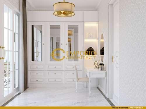 Desain Interior Desain Rumah Classic 2 Lantai Project 849 Mrs. A