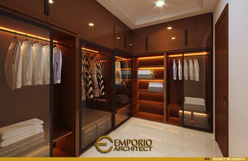 Interior Design Mrs. Desnita Classic House 2 Floors Design - Padang, Sumatera Barat