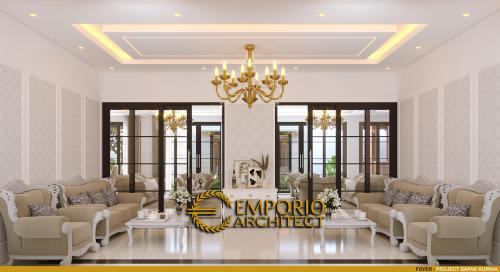 Interior Design Mr. Kurnia Classic House 2 Floors Design - Jakarta