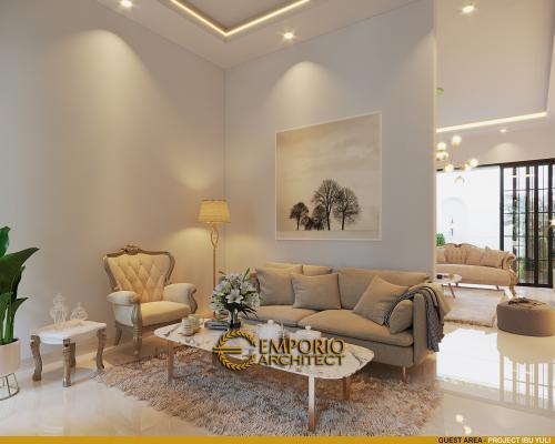Desain Interior Desain Rumah Classic 2 Lantai Ibu Yuli