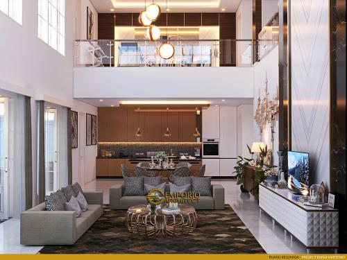 Interior Design Mr. Hartono Classic House 2 Floors Design - Kalimantan Utara