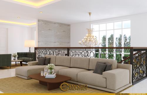 Desain Interior Desain Rumah Classic 2 Lantai Bapak Anto