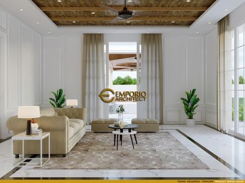 Interior Design Mr. Johan Classic House 2 Floors, Office, and Pavilion Design - Manado, Sulawesi Utara