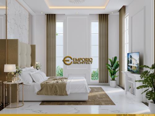 Desain Interior Desain Rumah Classic 2 Lantai, Kantor dan Paviliun Bapak Johan