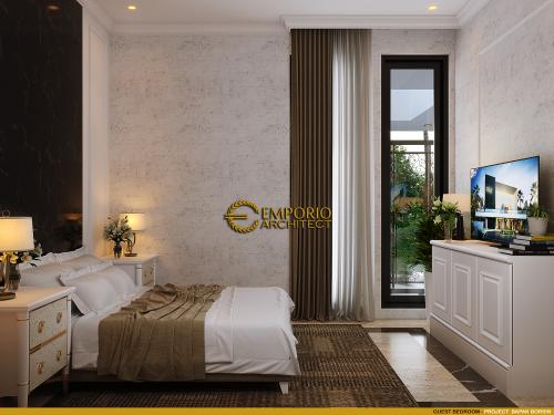 Desain Interior Desain Rumah Classic 2 Lantai Bapak Borsin