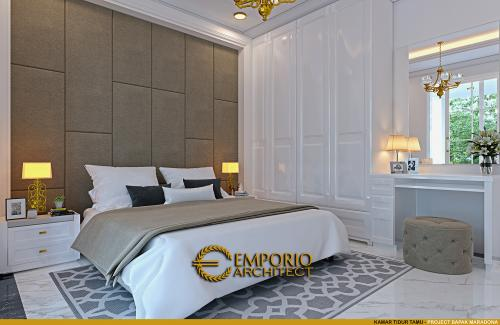 Interior Design Mr. Maradona Classic House 2 Floors Design - Tangerang, Banten