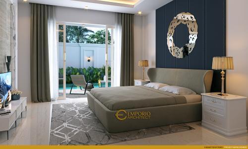 Interior Design Mr. Ridwan Classic House 2 Floors Design - Bandung, Jawa Barat