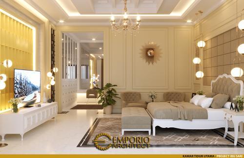 Desain Interior Desain Rumah Classic 2 Lantai Ibu Sari