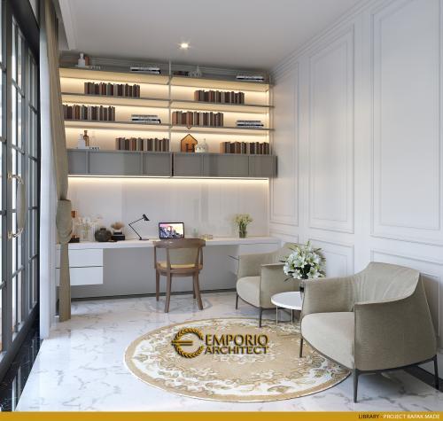 Desain Interior Desain Rumah Classic 2 Lantai Bapak Made
