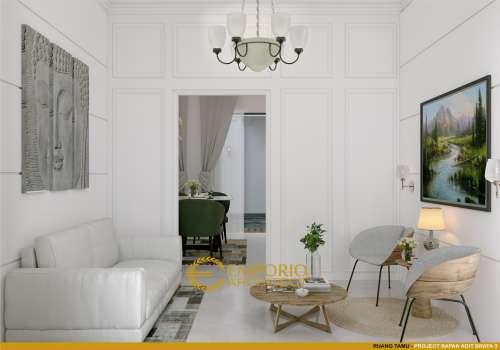 Interior Design Mr. Adit Brata III Classic House 2 Floors Design - Jakarta
