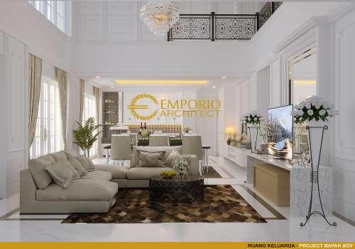 Desain Interior Desain Rumah Classic 2 Lantai Bapak Boy