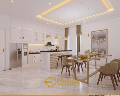 Interior Design Mr. Hidayat Classic House 2 Floors Design - Makassar, Sulawesi Selatan