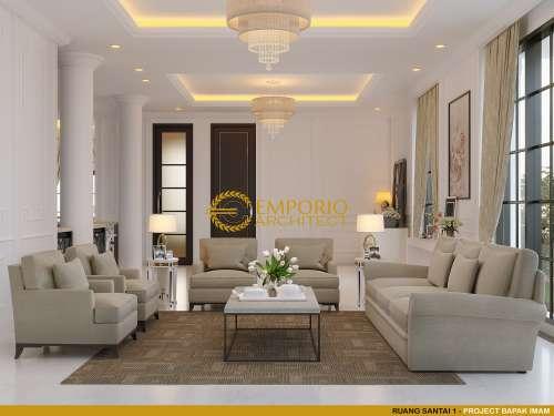 Desain Interior Desain Rumah Classic 2 Lantai Bapak Imam