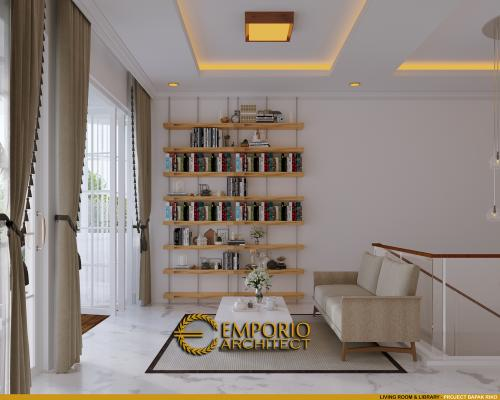 Desain Interior Desain Rumah Classic 2 Lantai Bapak Riko