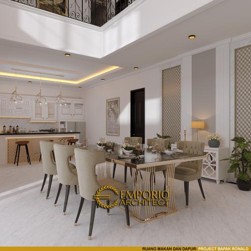Interior Design Mr. Ronald Classic House 2 Floors Design - Manado, Sulawesi Utara