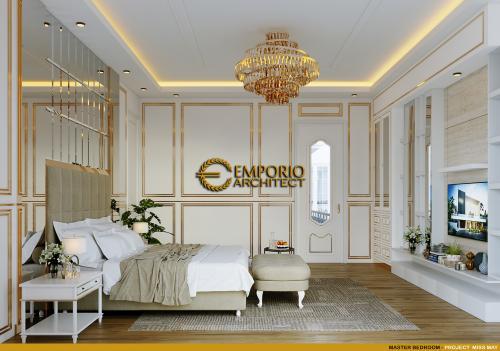 Desain Interior Desain Rumah Classic 2.5 Lantai Miss May