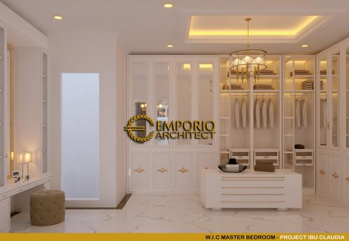 Interior Design Mrs. Claudia Classic House 2.5 Floors Design - Tangerang, Banten