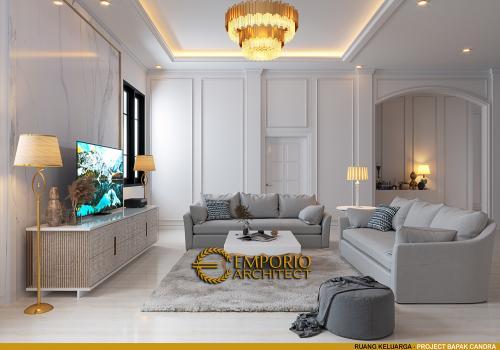 Interior Design Mr. Candra Mediteran House 3 Floors Design - Jakarta