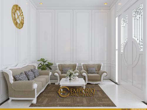 Interior Design Mrs. Dintan Classic House 3 Floors Design - Jakarta Utara