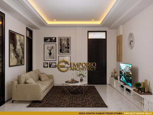 Desain Interior Desain Rumah Classic 3 Lantai Bapak Billy