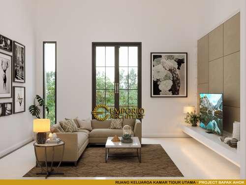 Interior Design Mr. Ahok Classic House 3 Floors Design - Jakarta