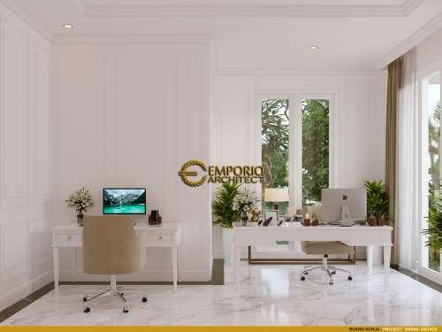 Interior Design Mr. George Alexander Classic House 3 Floors Design - Riau