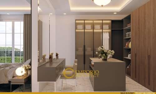 Desain Interior Desain Rumah Classic 3 Lantai Ibu Christine