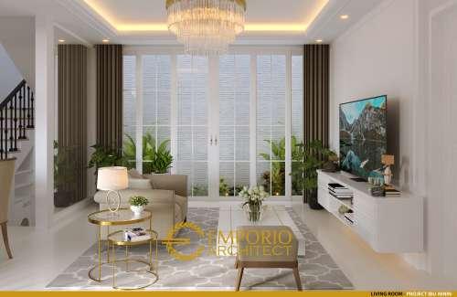 Interior Design Mrs. Ninin Classic House 3 Floors Design - Tangerang Selatan, Banten