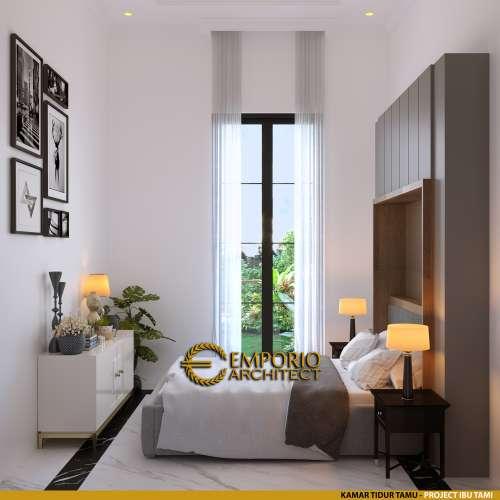 Interior Design Mrs. Tami Classic House 3 Floors Design - Jakarta Timur