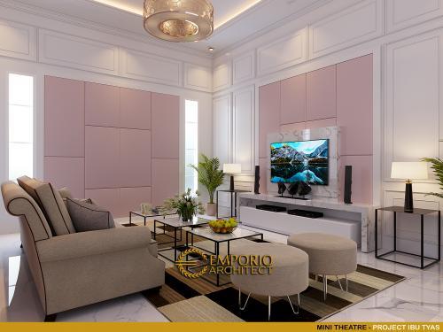 Desain Interior Desain Rumah Classic 3.5 Lantai Ibu Tyas