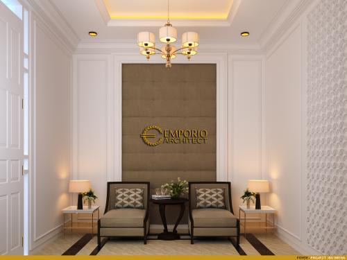 Desain Interior Desain Rumah Classic 3.5 Lantai Ibu Wiena