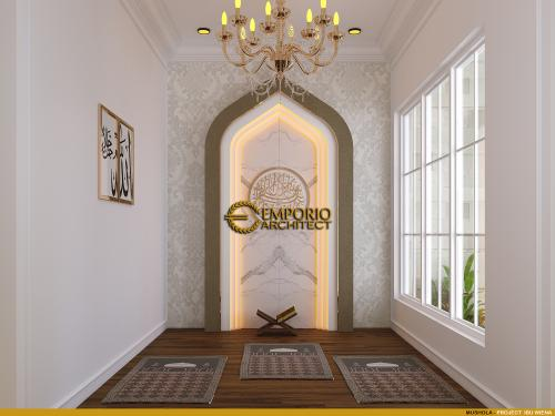 Interior Design Mrs. Wiena Classic House 3.5 Floors Design - Jakarta Selatan