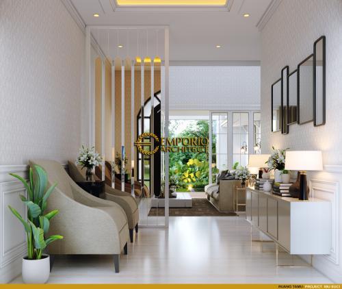 Interior Design Mrs. Suci Classic Modern House 2 Floors Design - Depok, Jawa Barat