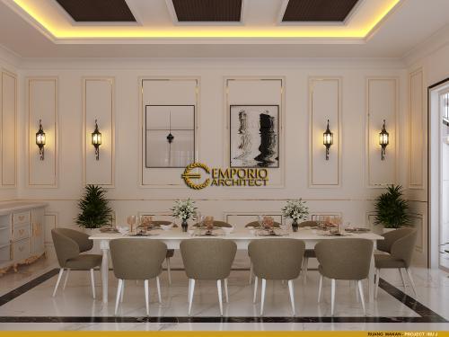 Desain Interior Desain Rumah Classic Modern 2 Lantai Ibu J