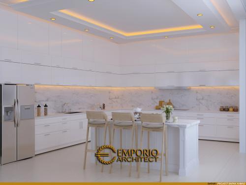 Interior Design Mr. Ahmad Classic Modern House 2.5 Floors Design - Jakarta Selatan