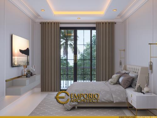 Desain Interior Desain Rumah Classic Modern 2.5 Lantai Bapak Ahmad
