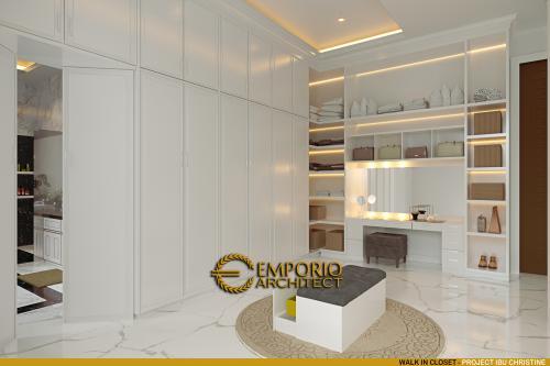 Desain Interior Desain Rumah Classic Modern 3 Lantai Ibu Christine