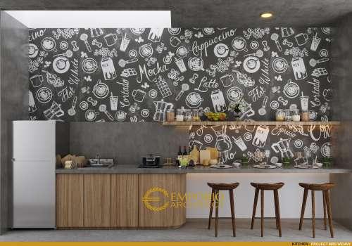 Interior Design Mrs. Wenny Modern House 2 Floors Design - Jakarta