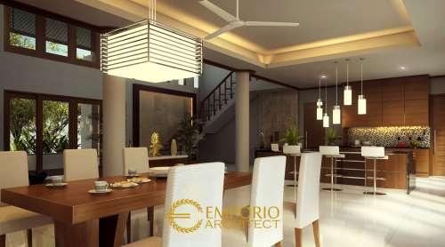 Interior Design Mr. Frans Villa Bali House 2 Floors Design - Jakarta