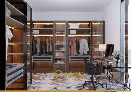 Desain Interior Desain Rumah Hook Modern 2 Lantai Ibu Dery