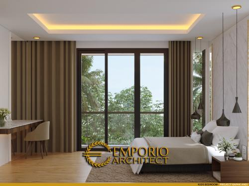 Interior Design Mr. Andi Modern Hook House 2.5 Floors Design - Jakarta Utara