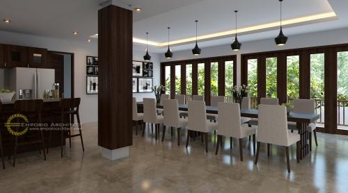 Desain Interior Desain Rumah Villa Bali 2 Lantai Ibu Atik Lawrence