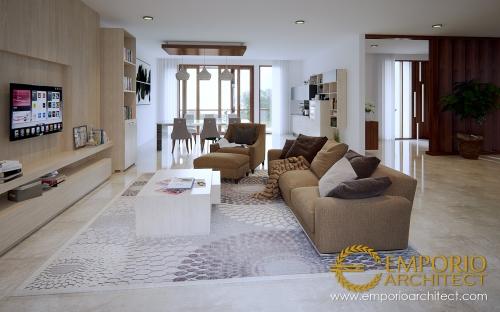 Interior Design Mrs. Chris & Mr. Andrew Modern House 3 Floors Design - Jakarta