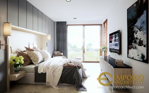 Desain Interior Desain Rumah Modern 3 Lantai Ibu Chris & Bapak Andrew