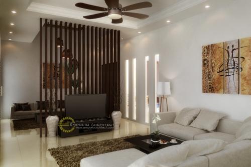 Desain Interior Desain Rumah Villa Bali 2 Lantai Ibu Dera