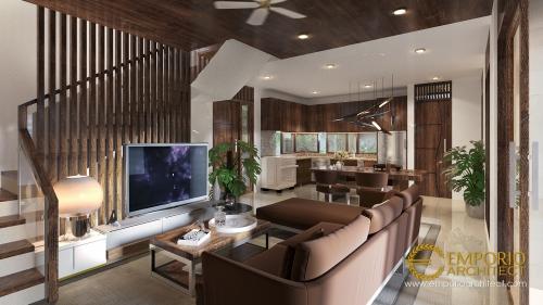 Desain Interior Desain Rumah Modern 2 Lantai Ibu Epi