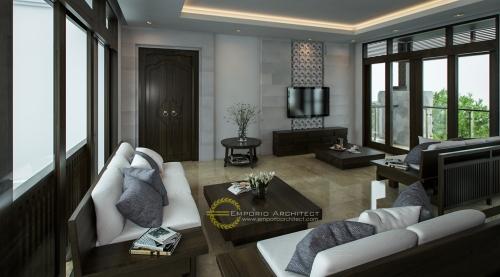 Desain Interior Desain Rumah Villa Bali 3 Lantai Ibu Irma Simbolon