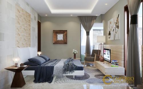 Desain Interior Desain Rumah Villa Bali 1 Lantai Ibu Linawati