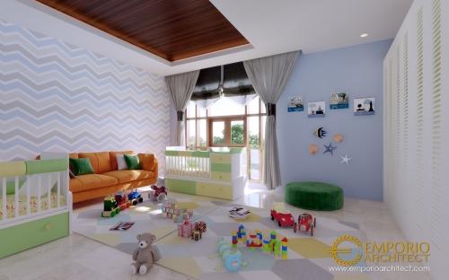 Desain Interior Desain Rumah Villa Bali 2 Lantai Ibu Maharani